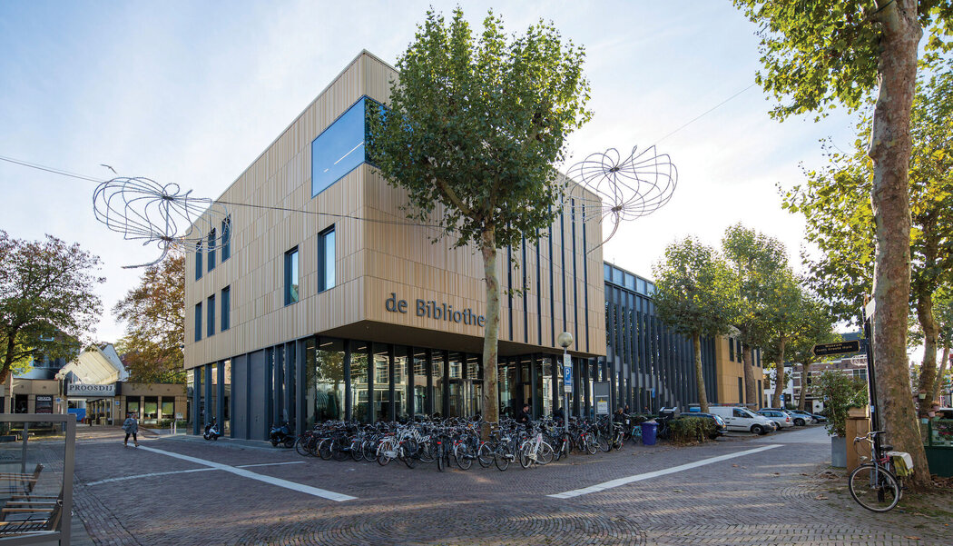 CW 50 Curtain Walls and CS 77 Windows - Library Deventer Library located in the Netherlands
